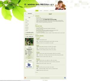 II. mateřská škola PRECIOSA, o.p.s.